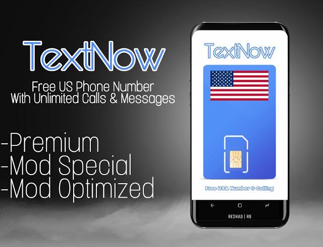 📱TextNow - Free US Phone Number
